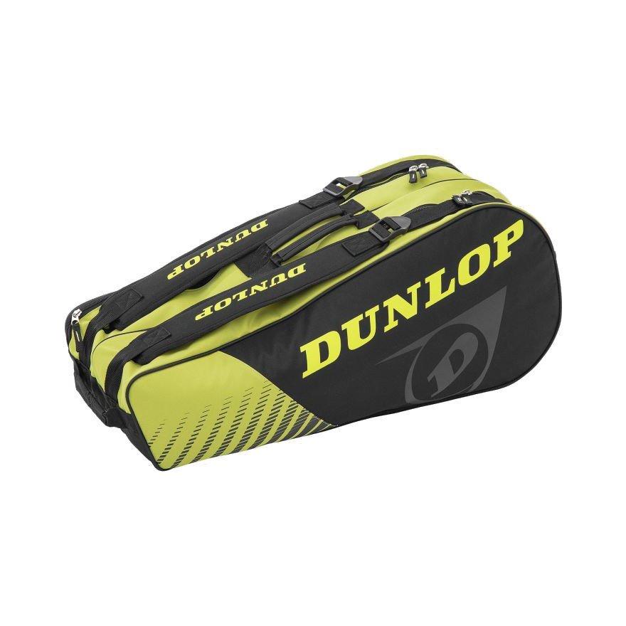 Dunlop Tennis Bag – SX CLUB 6-RACKET (BLACK & YELLOW)