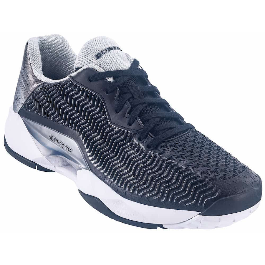 Dunlop Tennis Shoes – Dunlop Activector Men (Black & Silver)
