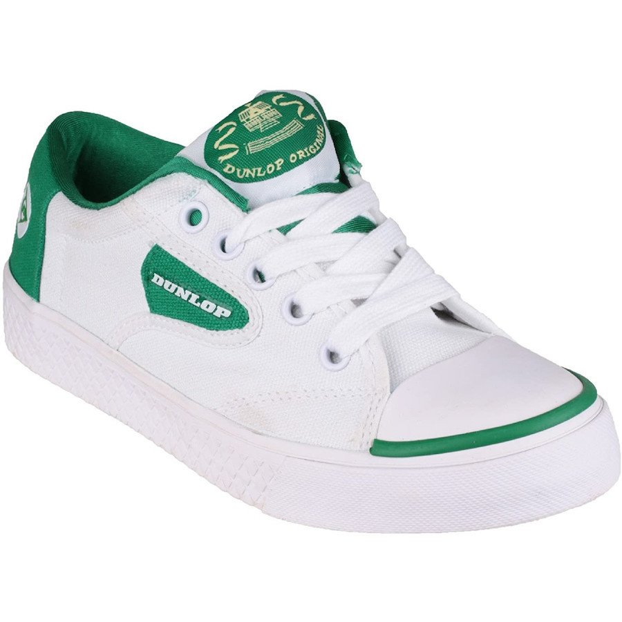 Dunlop Tennis Shoes – Green Flash DU1555 Non-Marking Trainer (Men)