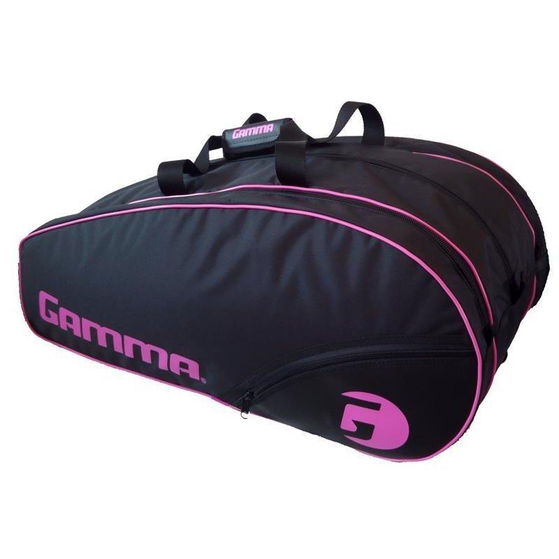 Gamma Tennis Racket Bag – Carbon 15-Tour Lady