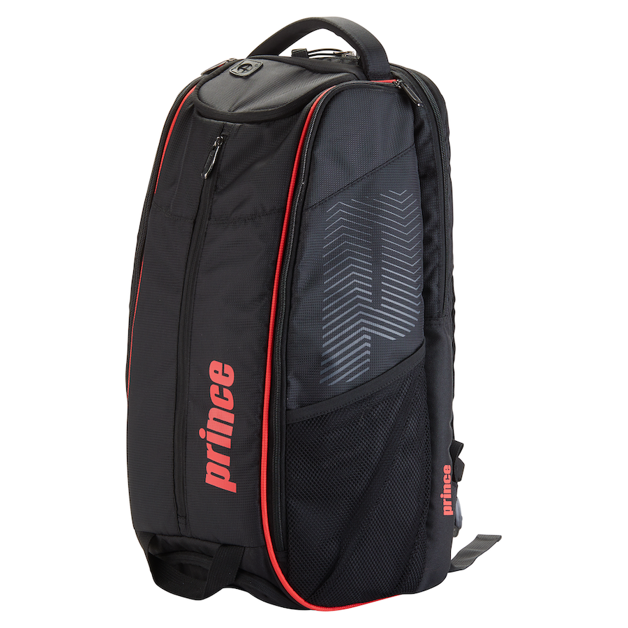 Prince Tennis Backpack – Tour Dufflepack (Black & Red)