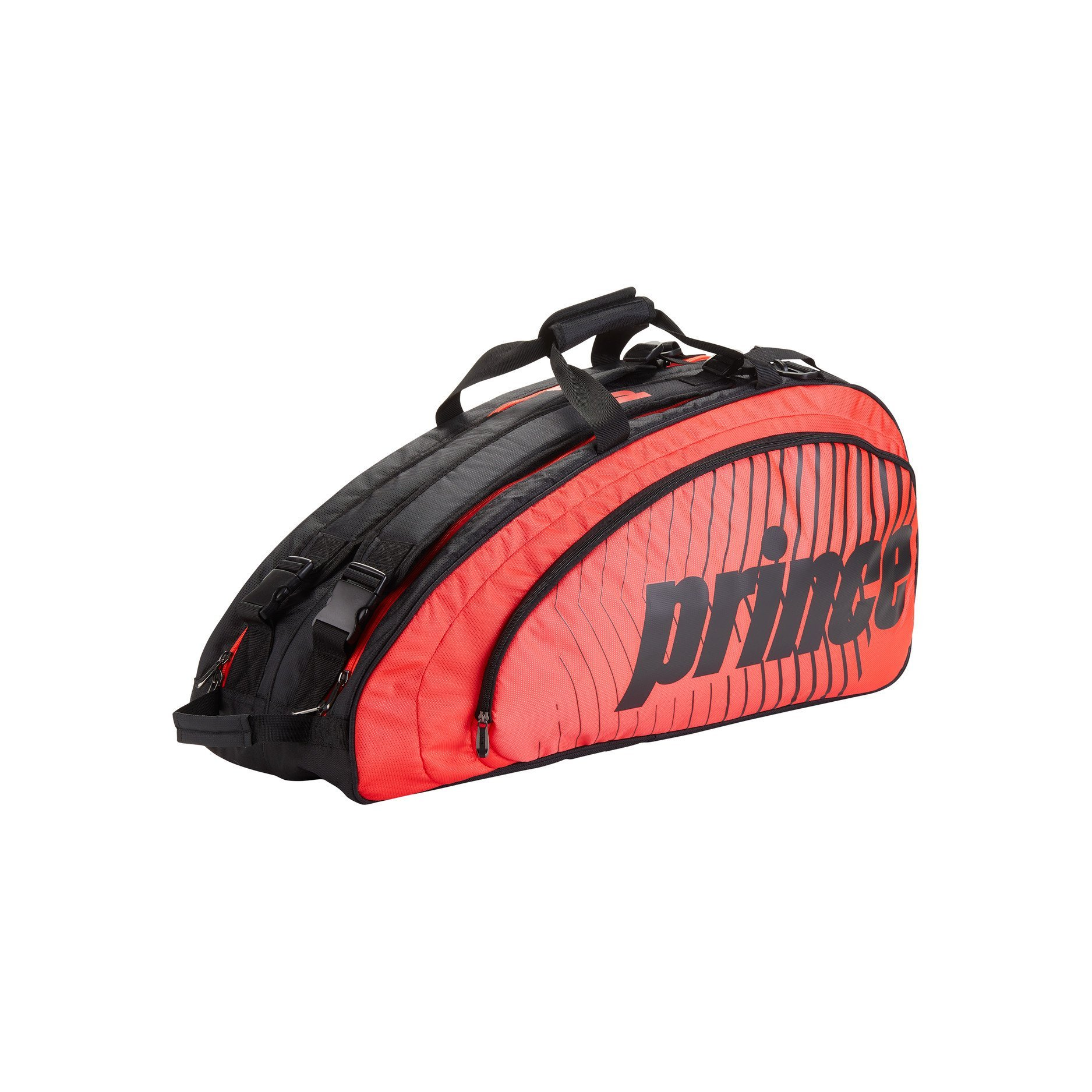 Prince Tennis Bag – Tour Future (Black and Red)