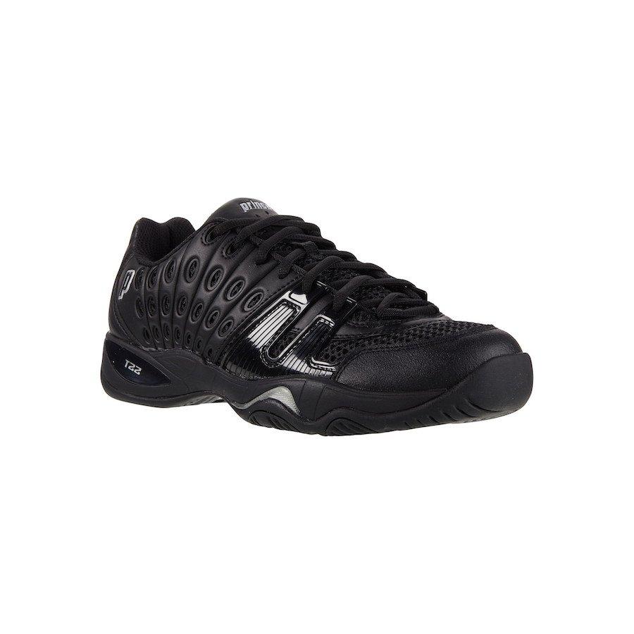 Prince Tennis Shoes – T22 Black-Black (Men)