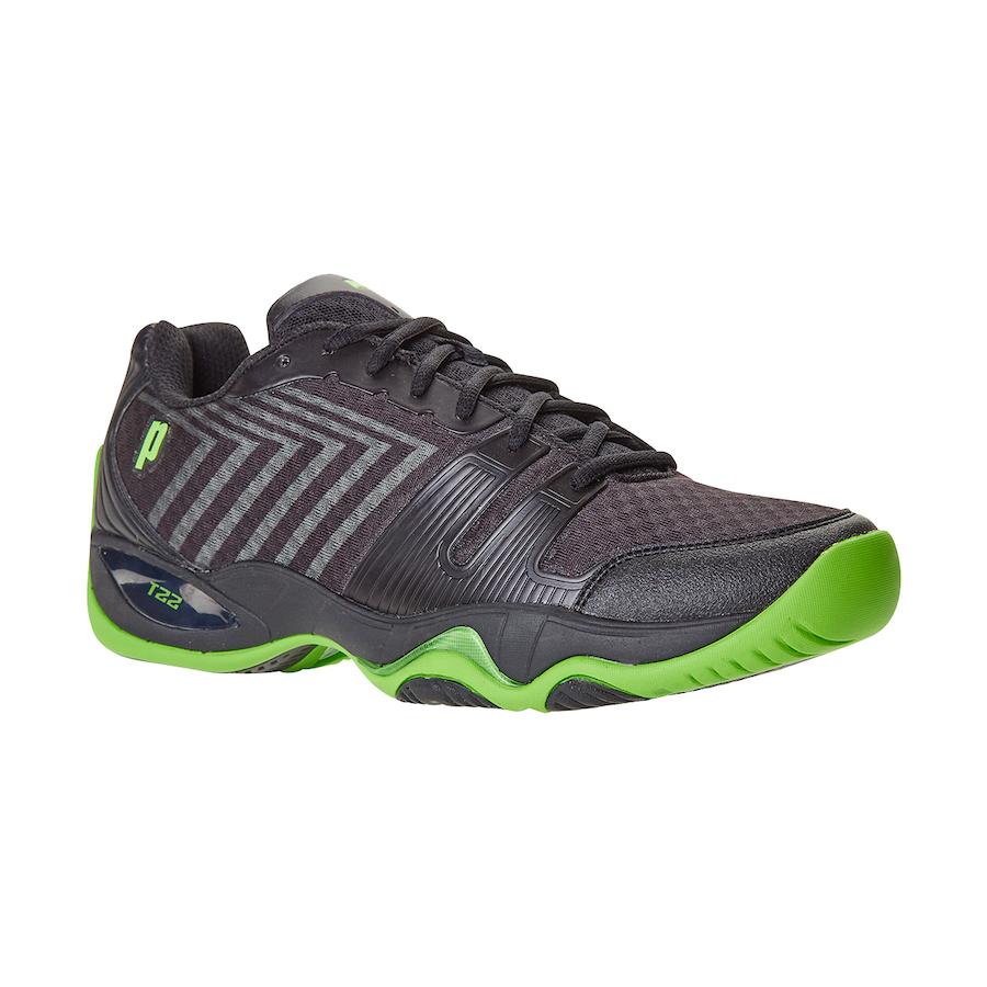Prince Tennis Shoes – T22 Lite Black-Green (Men)