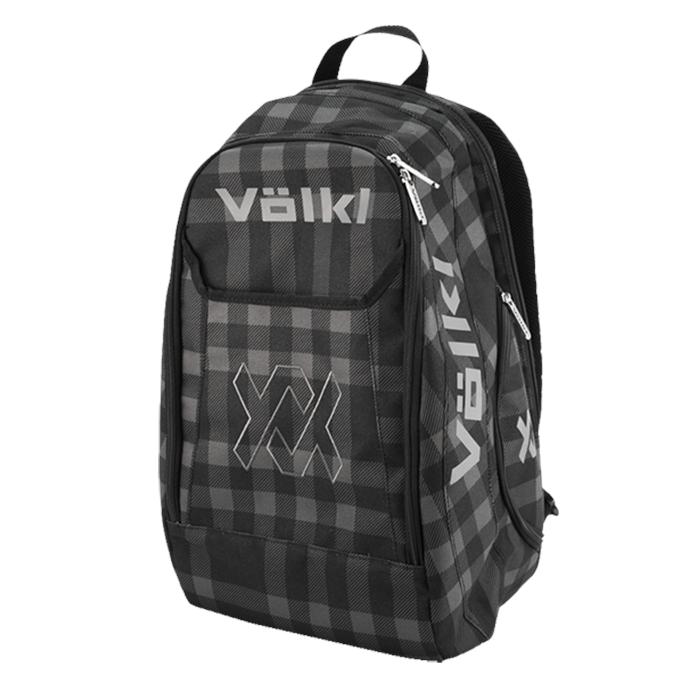 Volkl Tennis Backpack – TEAM BACKPACK BLACK & PLAID