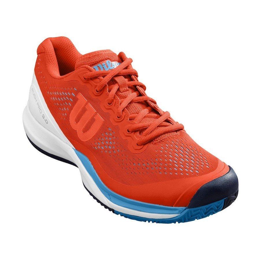 Wilson Tennis Shoes – 2019 Men's Rush Pro 3.0 (orange)