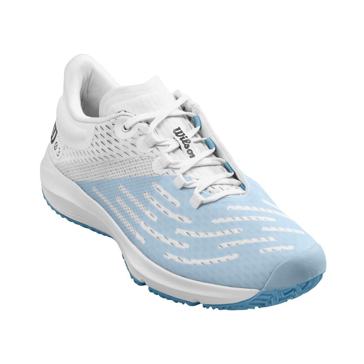 Wilson Tennis Shoes – Women's Kaos 3.0 (White & Blue)