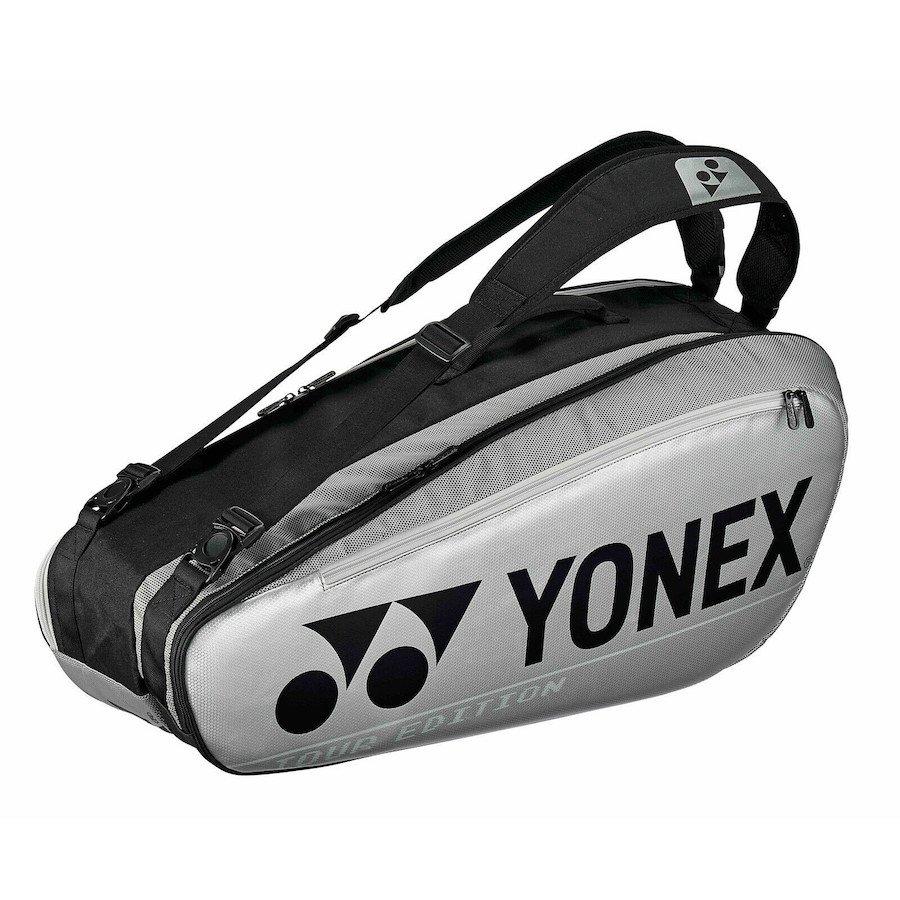 Yonex Tennis Bag – Pro 6-Pack Bag (Silver)