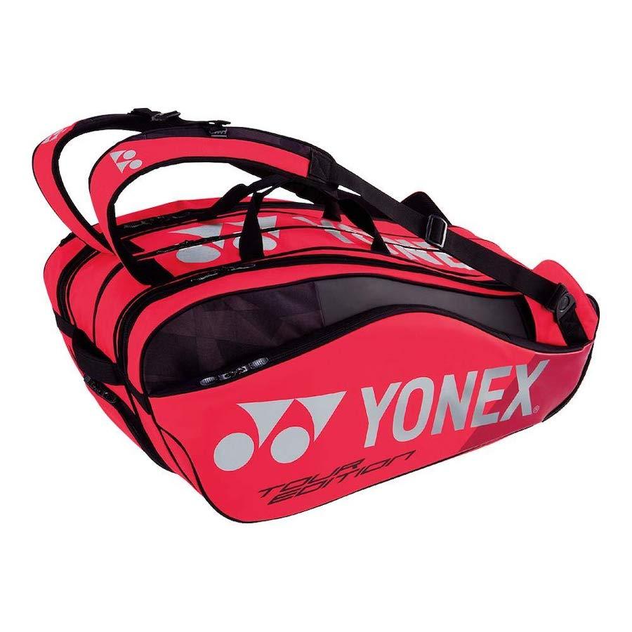 Yonex Tennis Bag – Pro 9-Pack Racquet Bag (Flame Red)
