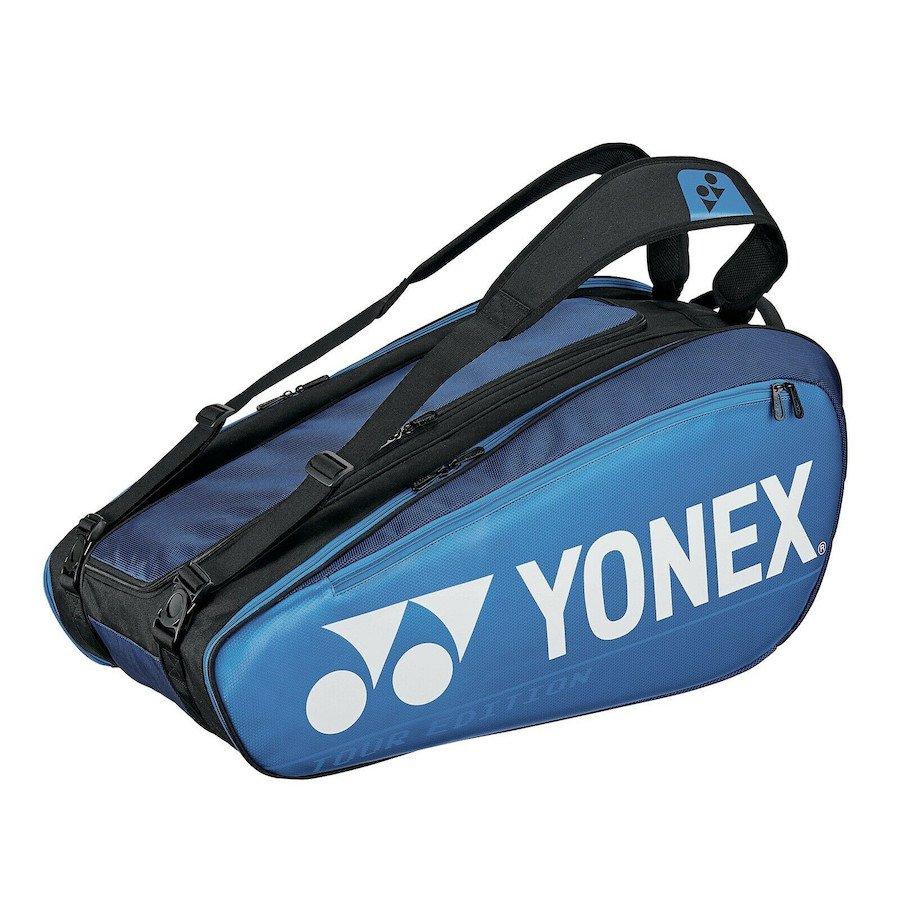Yonex Tennis Bag – Pro 9-Racquet Bag (Deep Blue)