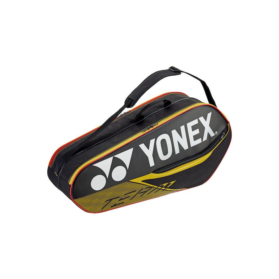 Yonex Tennis Bag – TEAM RACQUET BAG (6PCS) [black & red]