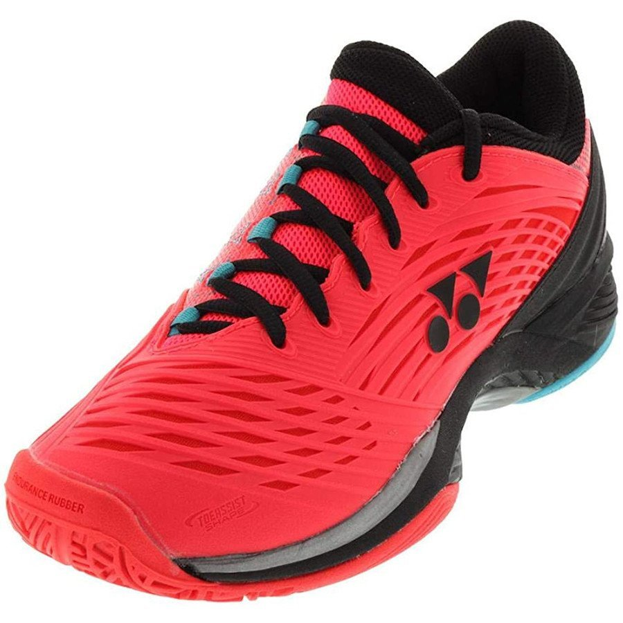 Yonex Tennis Shoes – Men's Power Cushion Fusionrev 2 (Coral Red)