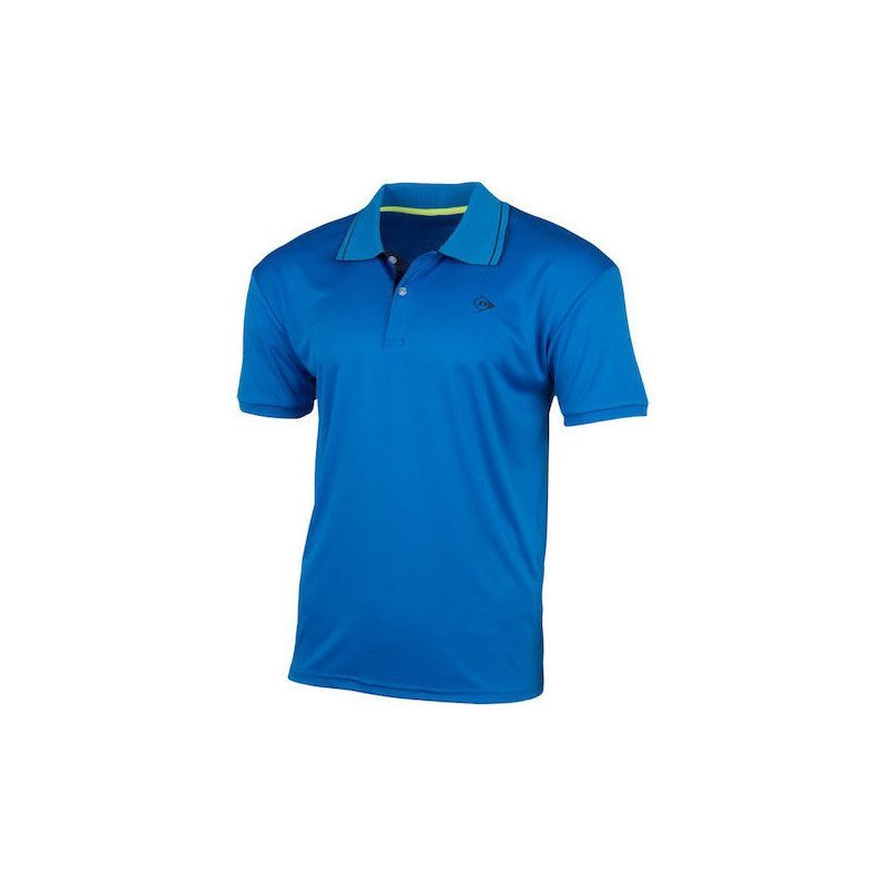 Dunlop Tennis Apparel – MEN'S POLO CLUB LINE (blue)