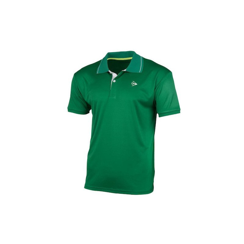 Dunlop Tennis Apparel – MEN'S POLO CLUB LINE (green)