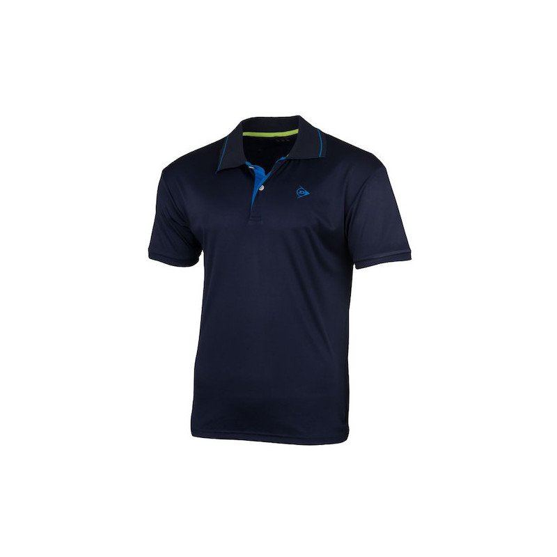 Dunlop Tennis Apparel – MEN'S POLO CLUB LINE (navy)