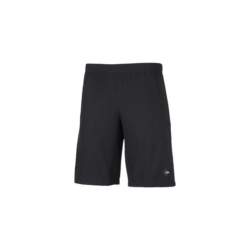 Dunlop Tennis Apparel – MEN'S WOVEN SHORT – CLUB LINE (black)