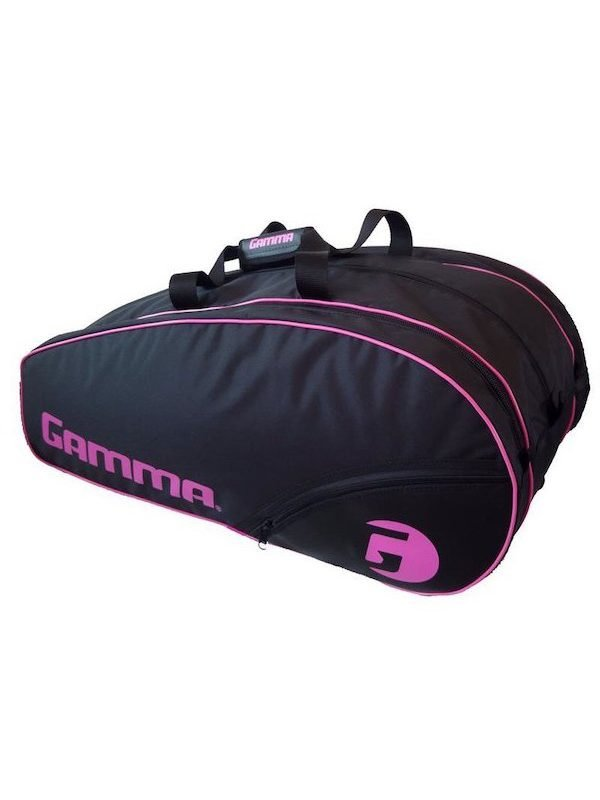 Gamma Tennis Racket Bag – Carbon 15-Tour Lady