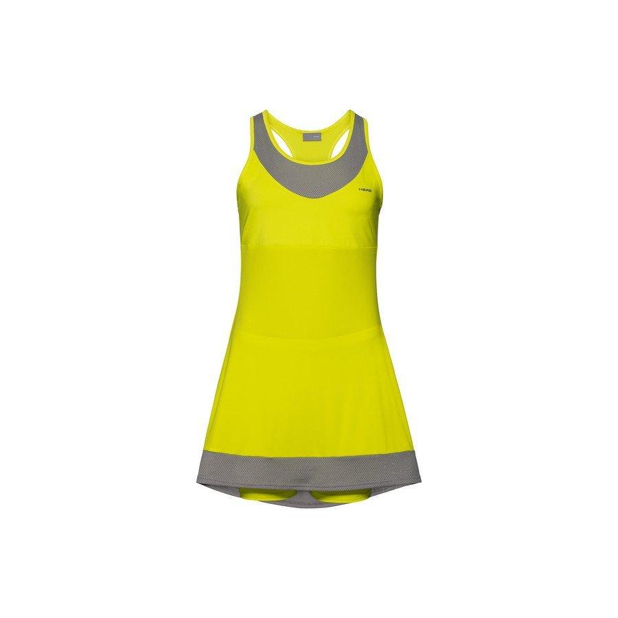 Head Tennis Clothing – DEMI Dress (yellow)