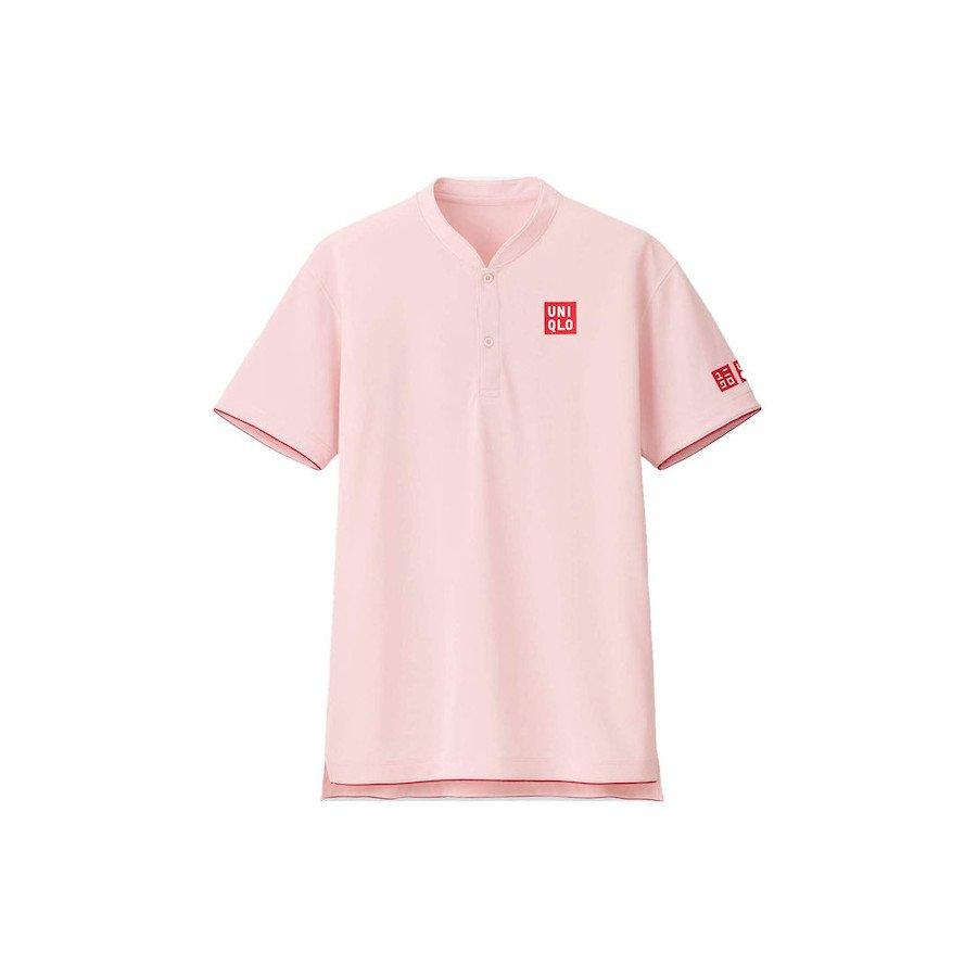 Uniqlo Tennis Outfits – Roger Federer Men RF Dry-EX Polo Tennis Shirt