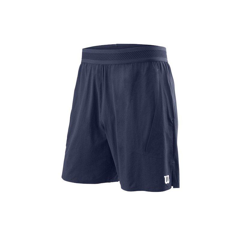 Wilson Tennis Apparel – Men's UL Kaos 7 Tennis Short (Blue)