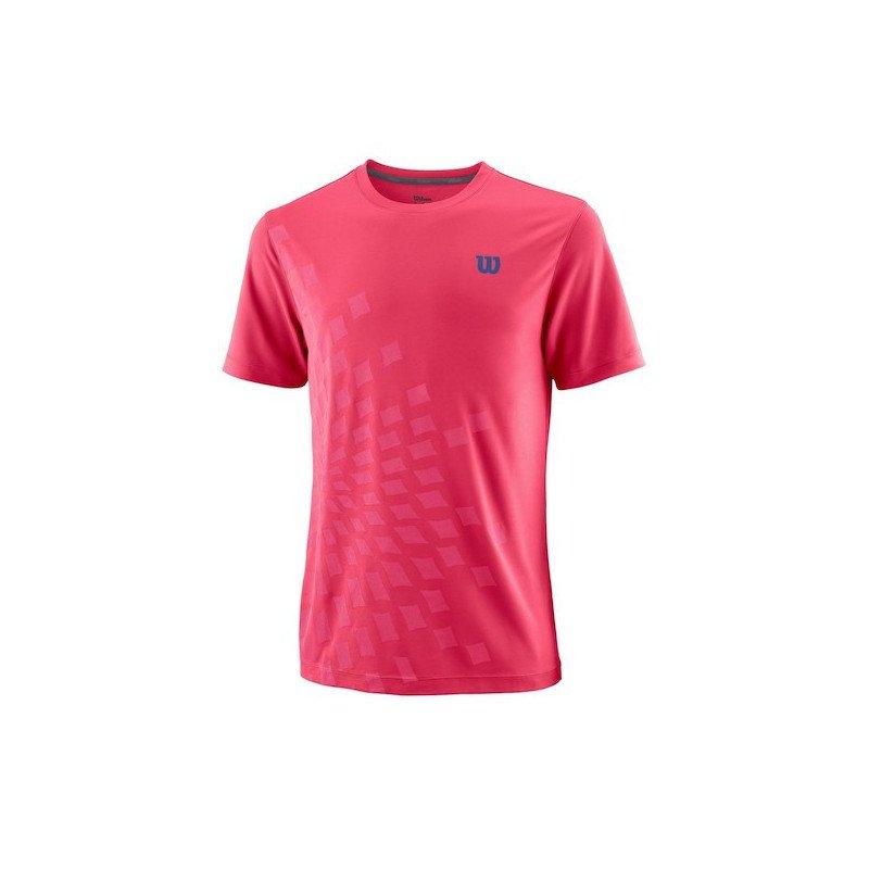 Wilson Tennis Apparel – Men's UWII Aperta Crew Tennis Shirt
