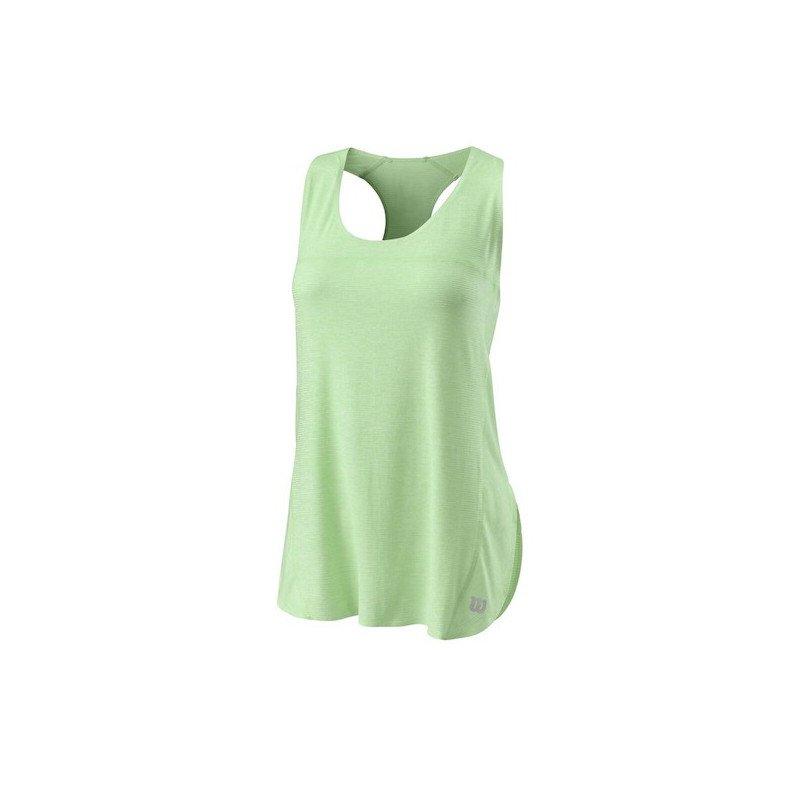 Wilson Tennis Clothing – Women's UL Kaos Tank (Green)