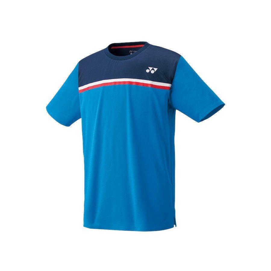 Yonex Tennis Apparel – Men's Crew Neck Shirt (sea blue)