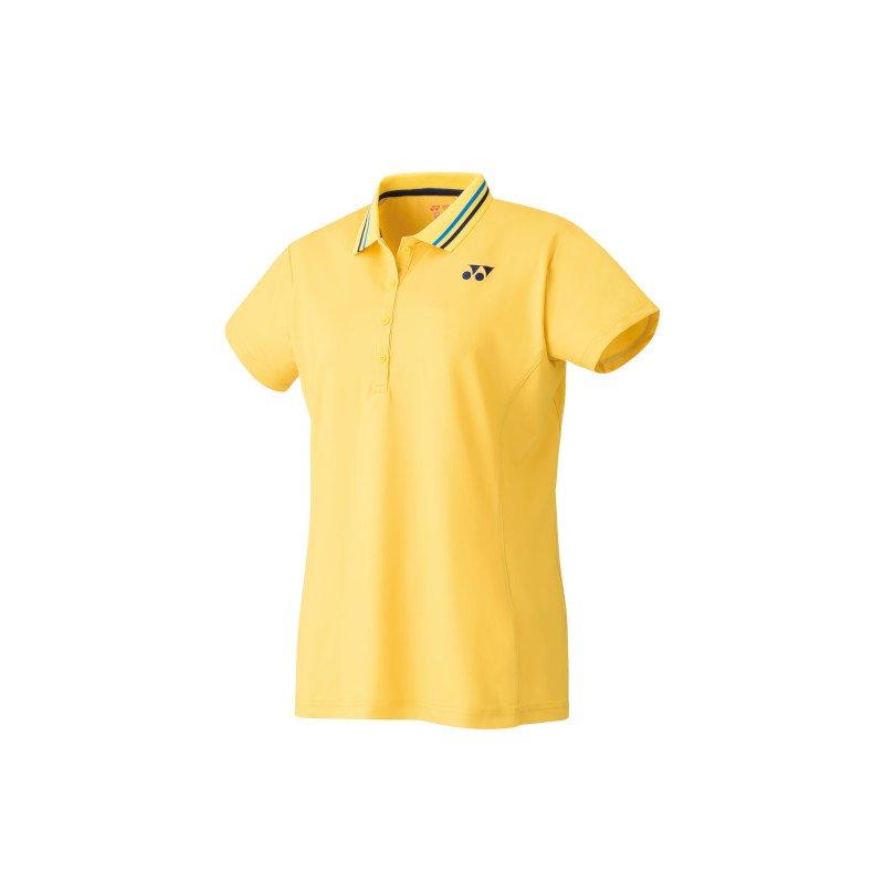 Yonex Tennis Clothing – Women's Polo Shirt (soft yellow)