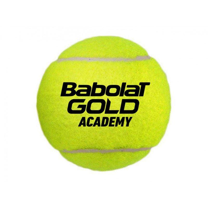 Babolat Tennis Accessories – Gold Academy Tennis Balls (Bag x72)