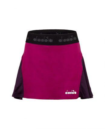 Diadora Women's Tennis Skirt (Violet Boysenberry)