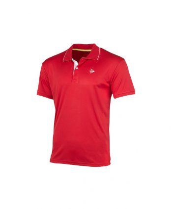 Dunlop MEN'S POLO CLUB LINE Tennis Shirt (red)