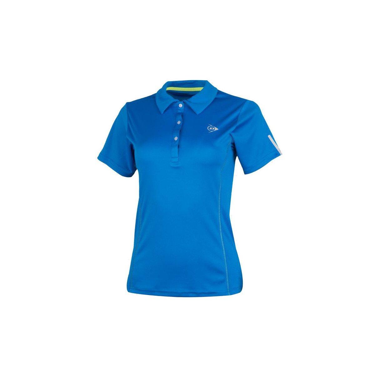 Dunlop Women's Club Collection Polo Tennis Shirt (Blue)