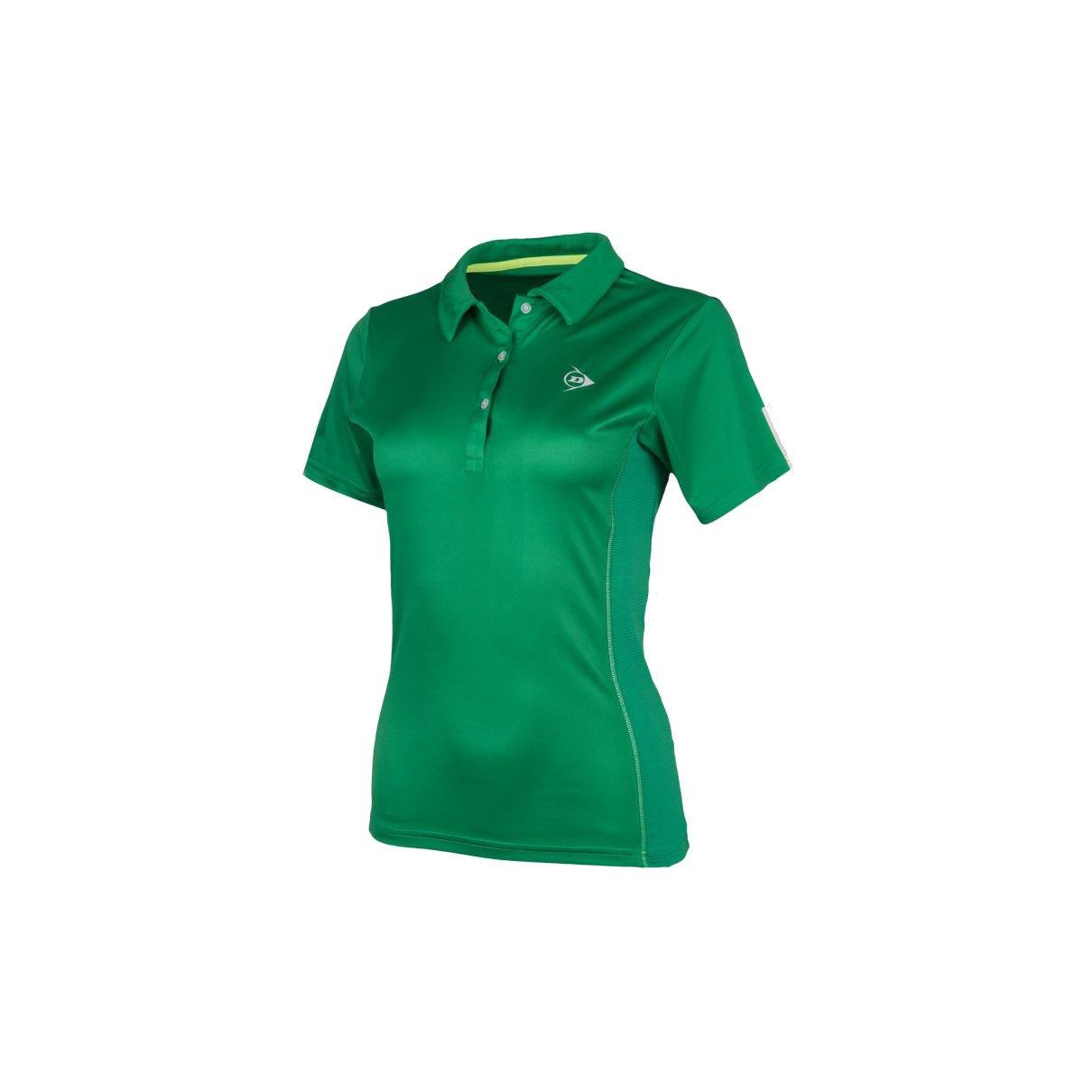 Dunlop Women's Club Collection Polo Tennis Shirt (Green)