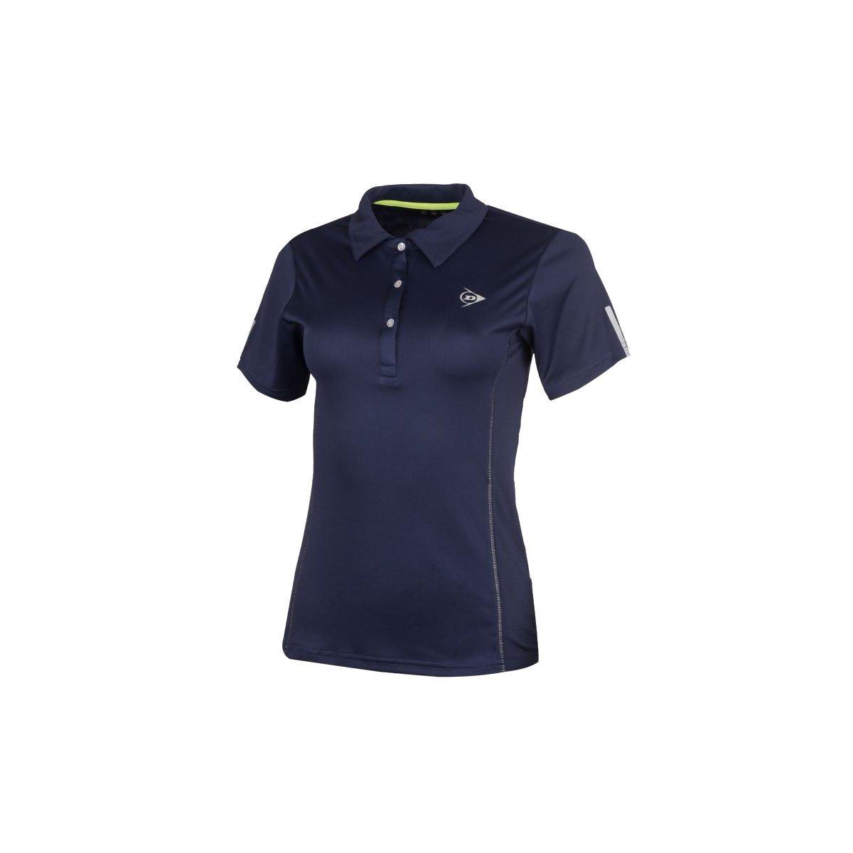 Dunlop Women's Club Collection Polo Tennis Shirt (Navy)