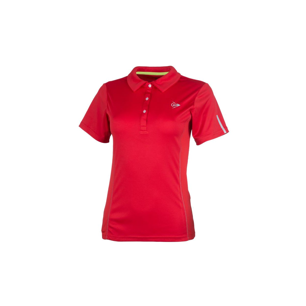 Dunlop Women's Club Collection Polo Tennis Shirt (Red)
