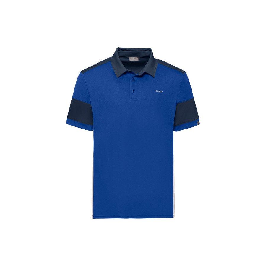 Head ACE POLO Tennis Shirt (Blue & Black)