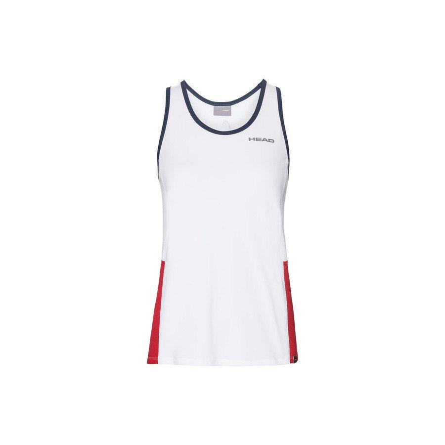Head CLUB Tank Top Tennis Dress (white)