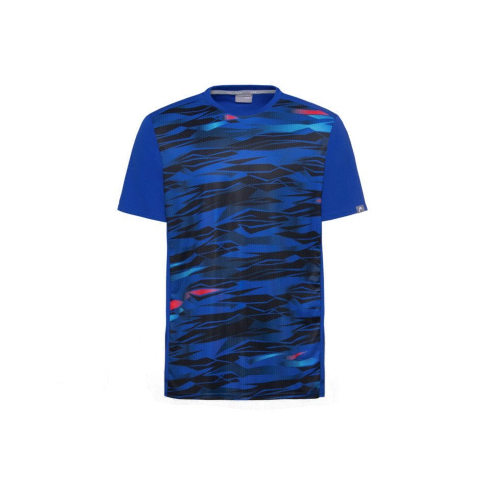 Head Slider Tennis T-Shirt (Dark Blue)