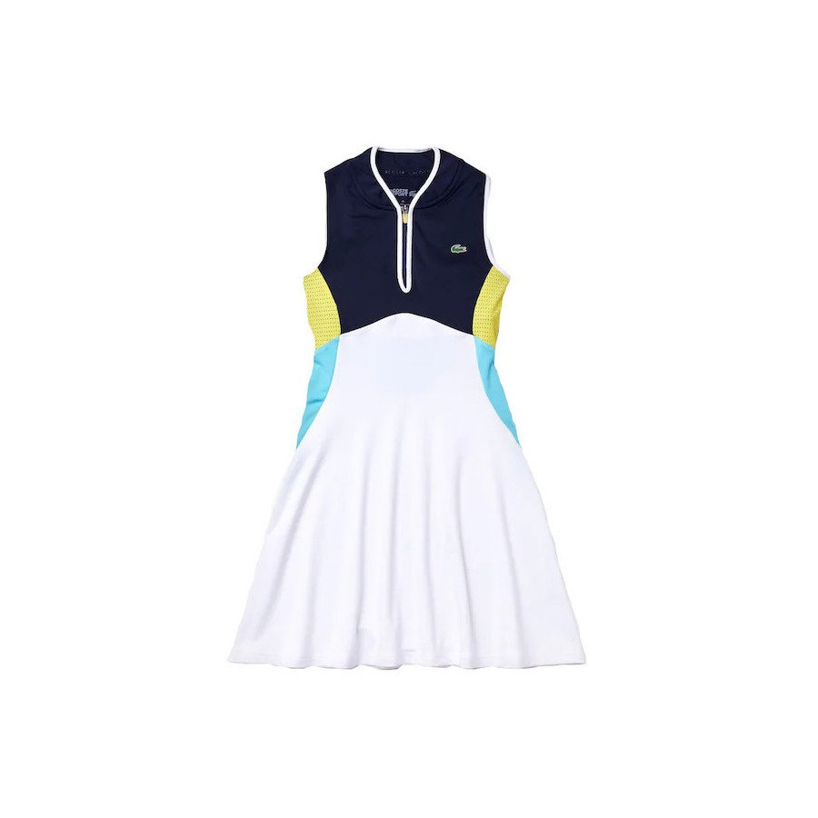 Lacoste SPORT Breathable Stretch Tank Top Tennis Dress