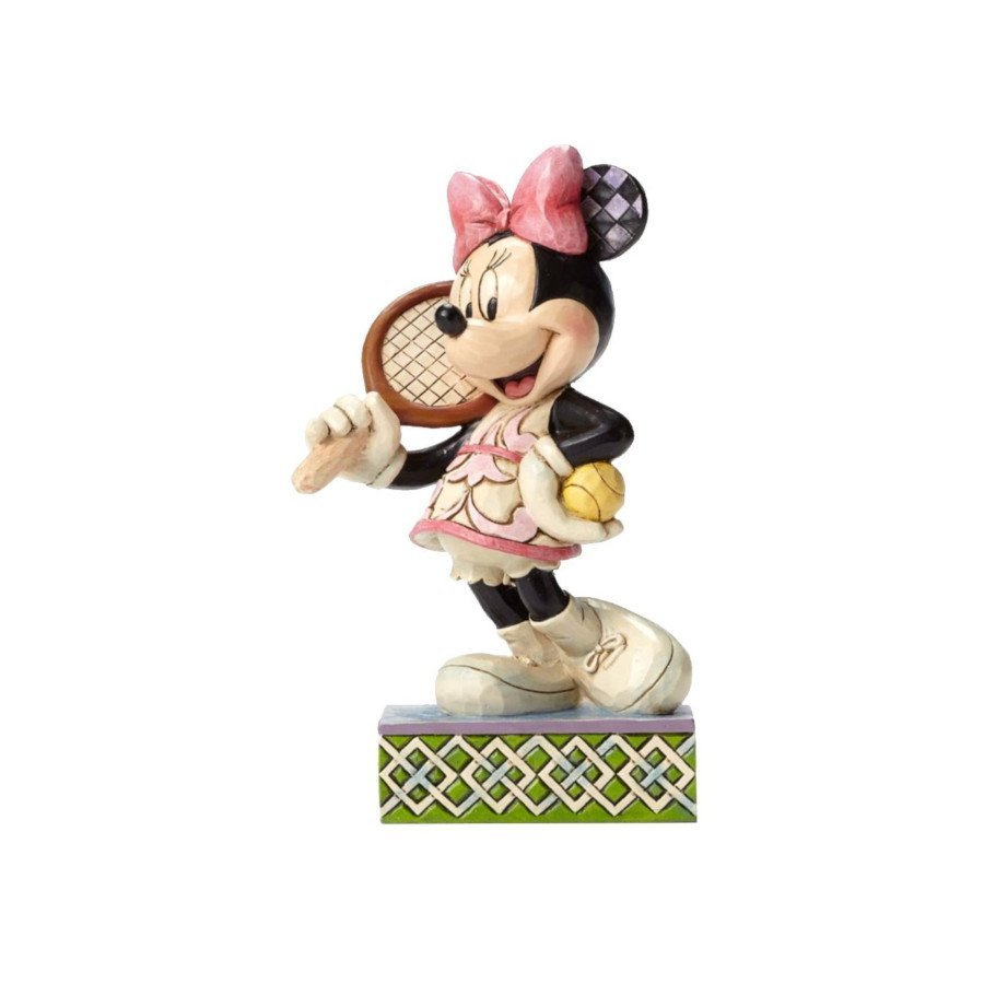 Minnie Mouse 'Tennis Anyone' Figurine (tennis art)