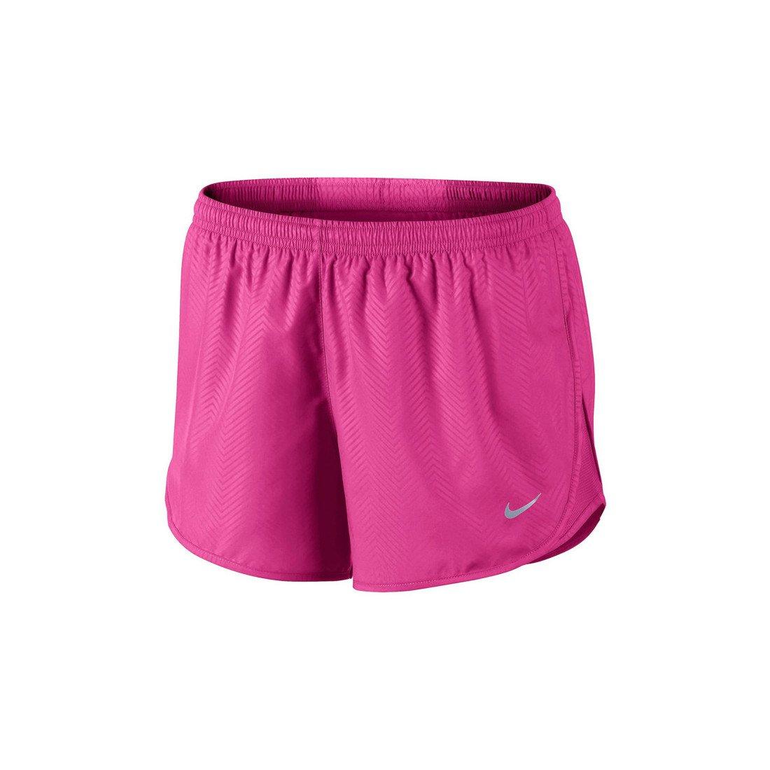 Nike Women's Modern Embossed Tempo Tennis Short (Pink)