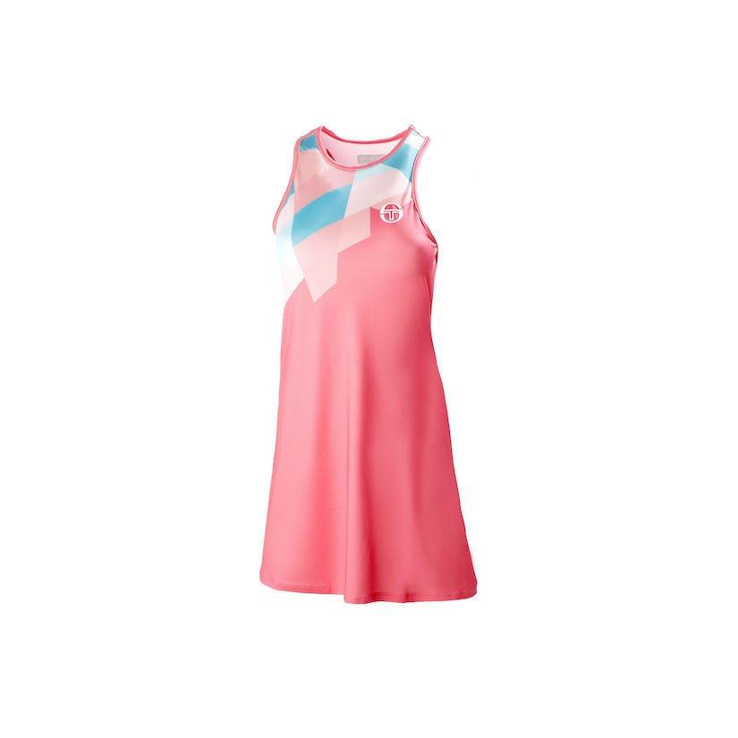 Sergio Tacchini Tangram Tennis Dress
