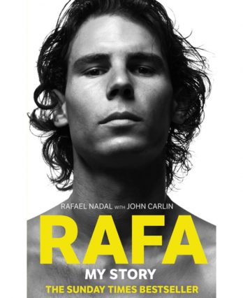 Tennis Book titled 'Rafa – My Story'