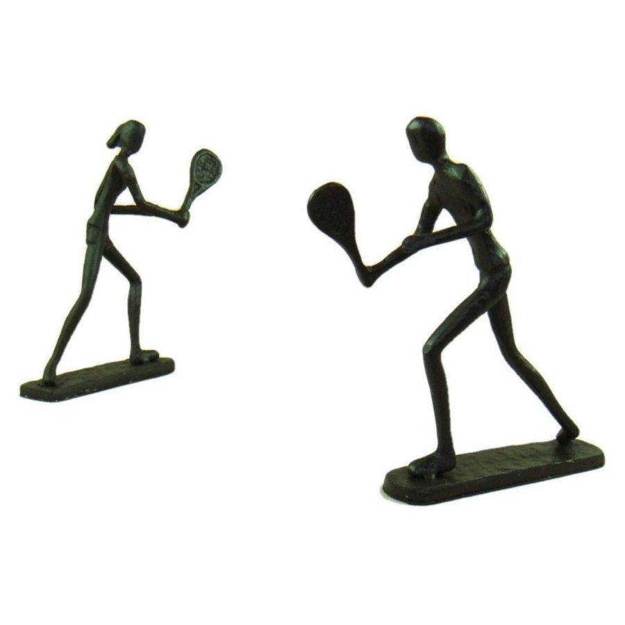 Tennis Lovers Figurine (tennis art)