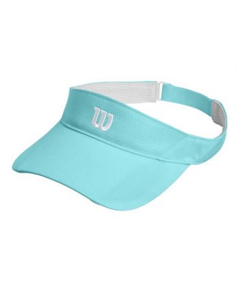 Tennis Visor – Wilson Rush Knit Ultralight (blue)