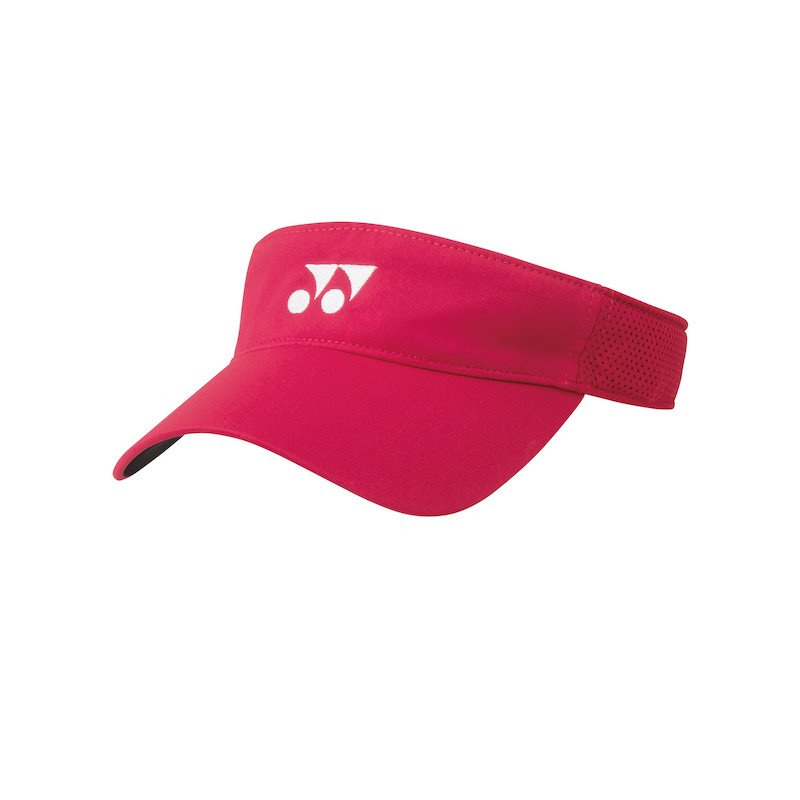 Tennis Visor – Yonex (flash red)