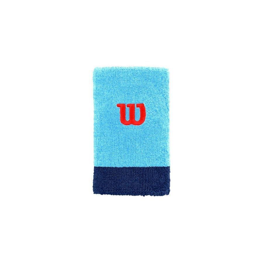 Tennis Wristband – Wilson AcceExtra Wide W (Blue)