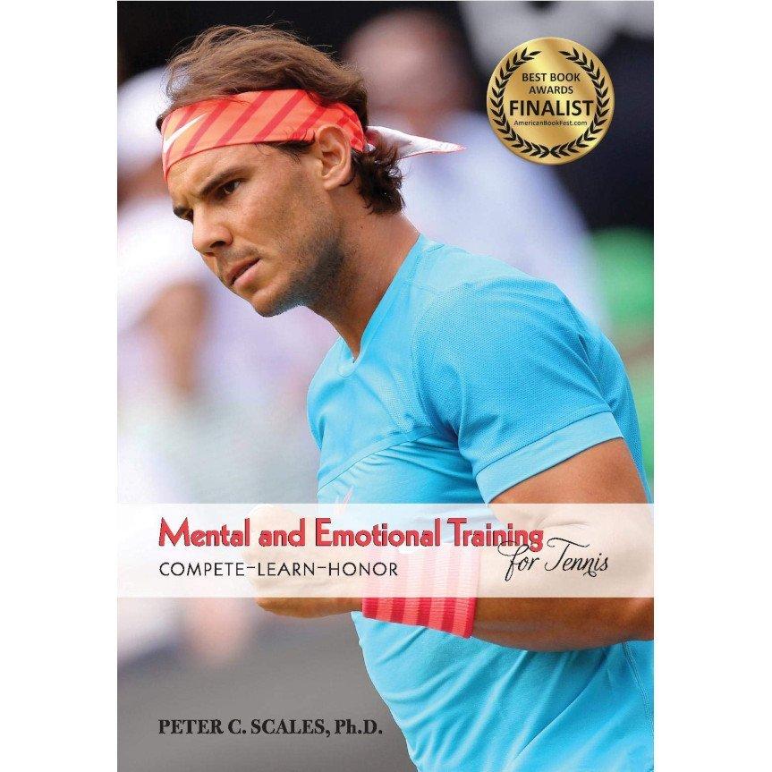 Tennis book titled 'Mental & Emotional Training'