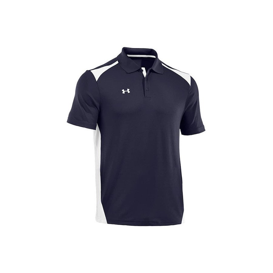 Under Armour Men's Team Colorblock Polo Tennis Shirt