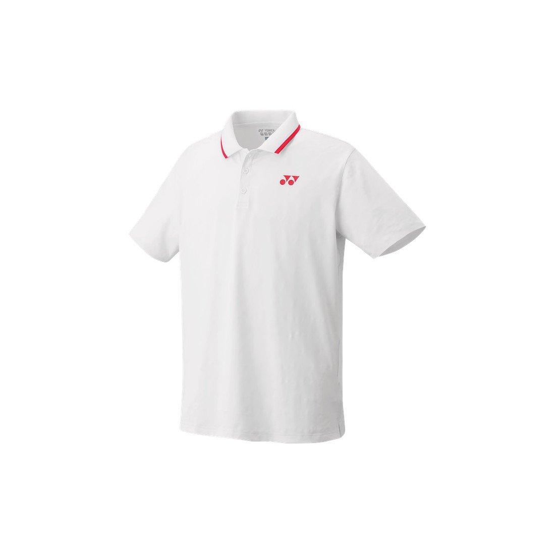 Yonex Men's Polo Tennis Shirt (Slim Fit) [white]